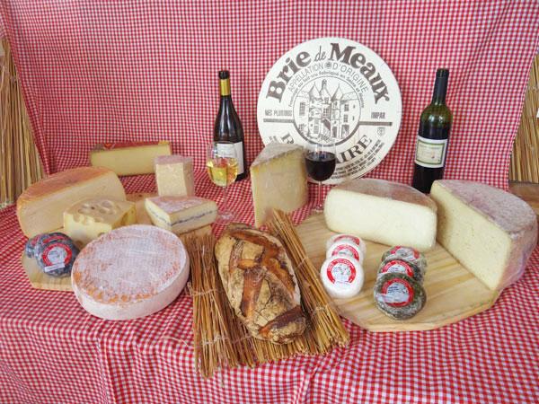 Vente de fromages brebie camenbert conté