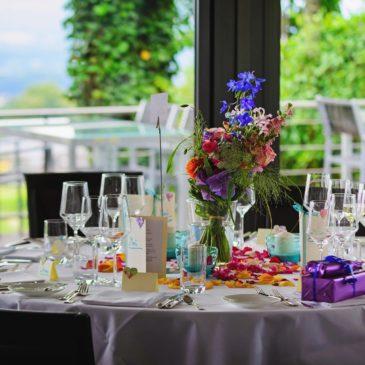 Décoration table de mariage comunion baptème